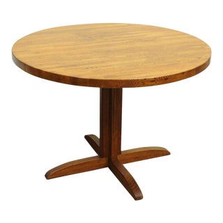 Mission Style Oak Table