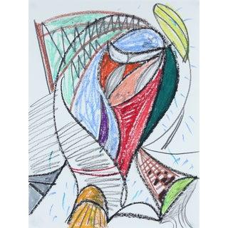 M. DI Cosola Pastel Abstract Drawing