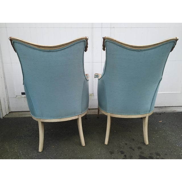 Image of Hollywood Regency Grosfeld House Armchairs - A Pair