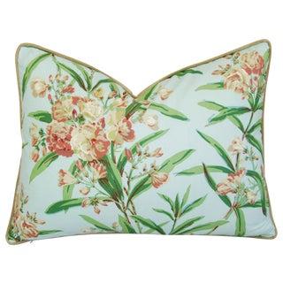 Designer Schumacher Oleander Blossom Pillow