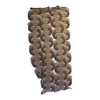Samuel & Sons Orsay Silk Woven Crete Trim - Remnant Piece