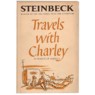 "Steinbeck's ""Travels With Charley"" Hardcover Book"