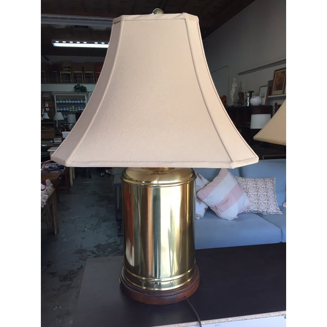 Image of Brass Lamps - a Pair