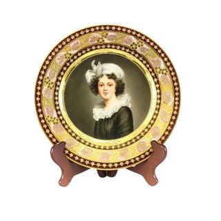 Dresden Madame Le Brun Decorative Plate