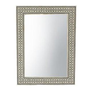 Moorish Grey Inlay Mirror Frame