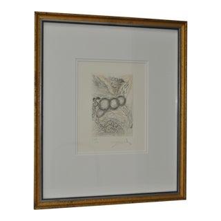 1975 Pegasus Lithograph by Salvador Dali