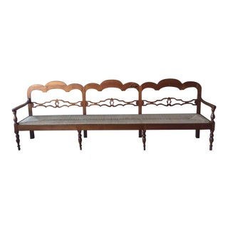 Antique Italian Long Bench