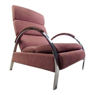 Mid-Century Modern Recliner Lounge Chair by George Mulhauser for DIA