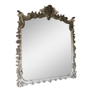 Wooden Ornate Wall Mirror