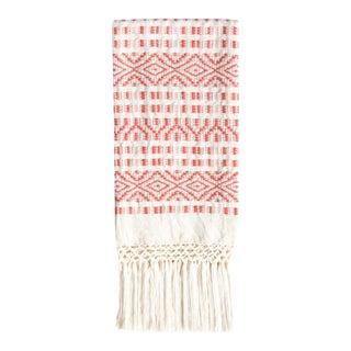 Coral Chiapas Hand Towel
