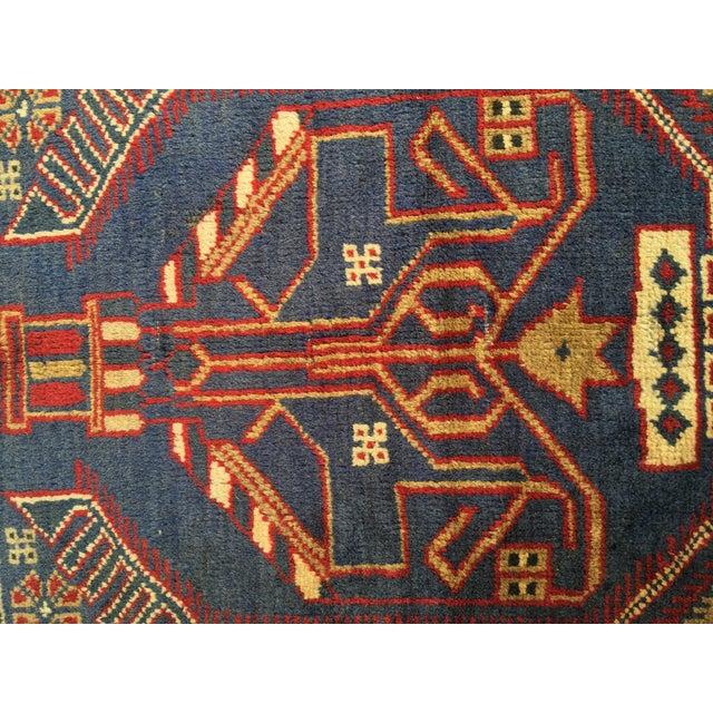 "Vintage Persian Baluchi Rug - 2'10""x4'9"" - Image 6 of 10"