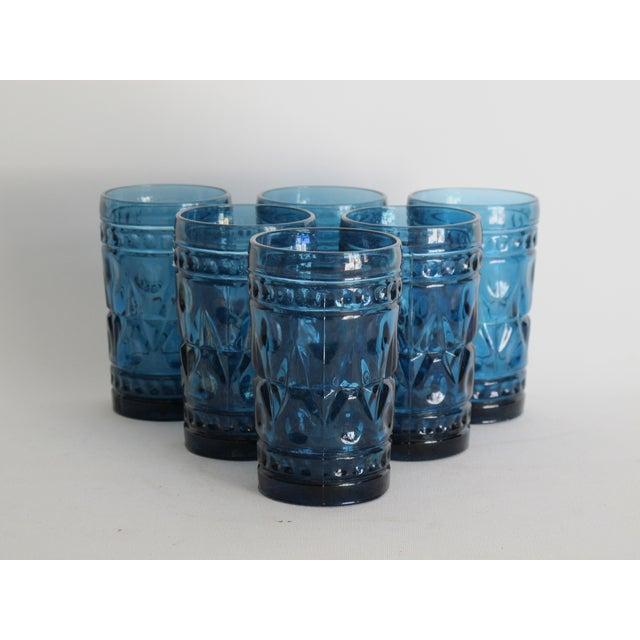 Image of Cobalt Blue Juice Glasses - Set of 6