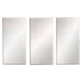Set of Three Decorative Modern Mirrors by La Barge