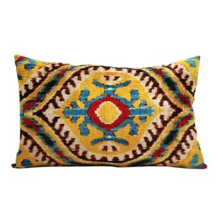 Tierra Silk Velvet Accent Pillow