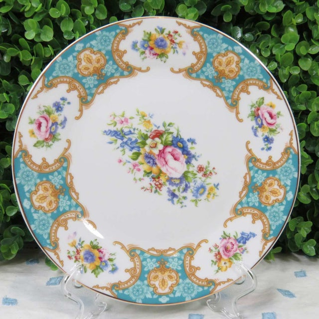 Vintage Mismatched China Dessert Plates - Set of 4 - Image 5 of 8