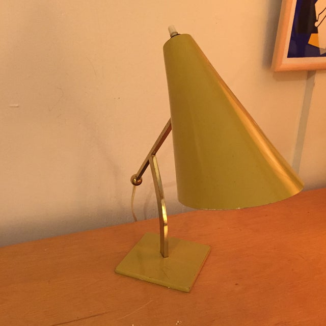 Image of Stilux Milano Mustard Table Lamp