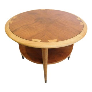 Lane Acclaim Round Two Tier Side Table