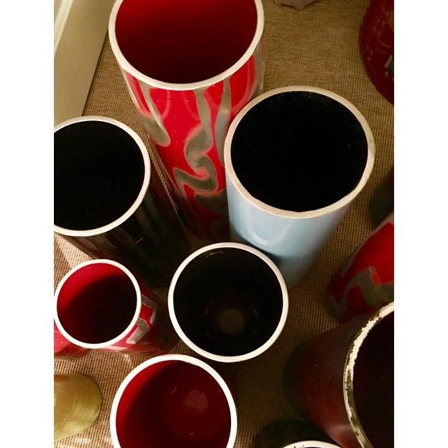 Image of Repurposed Fire Extinguisher Vase