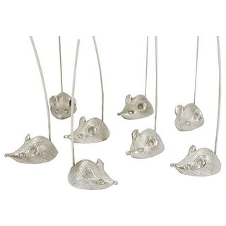 Napier Mice Cheese Servers in Box - Set of 8