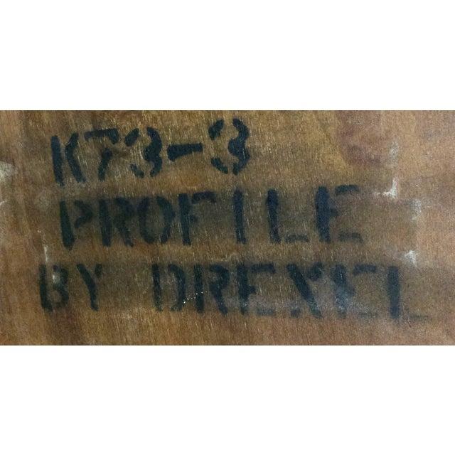 Drexel Profile Corner Table - Image 5 of 5
