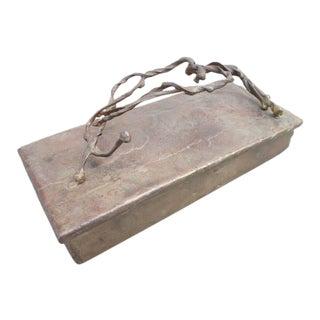 Brutalist Bronze Box