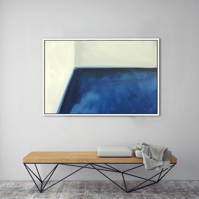 "Image of ""Abstract Open Door"" Fine Art Framed Giclée Print"