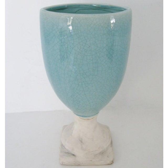 Ceramic Glazed Urn Vase - Image 2 of 6