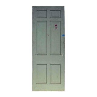 Antique White 6 Panel Wooden Door