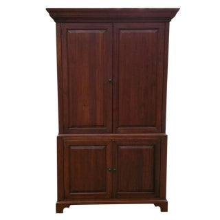 Solid Wood Armoire/TV Cabinet