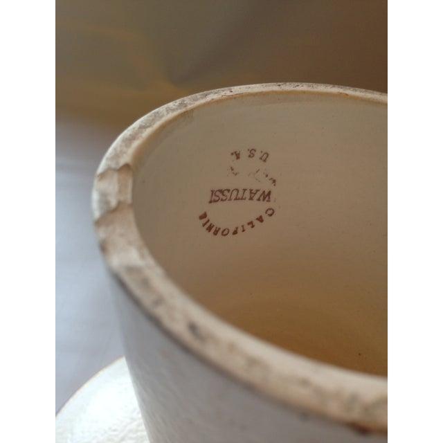 Watussi California Pottery Pedestal Dish - Image 4 of 5
