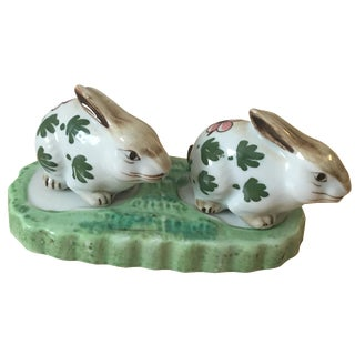 Bunny Rabbit Salt and Pepper Shakers - A Pair