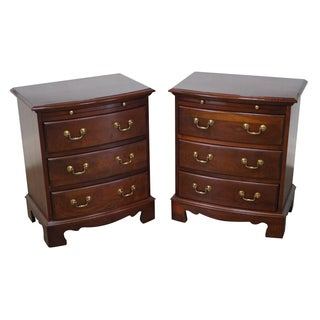 Pennsylvania House Chippendale Nightstands  - Pair