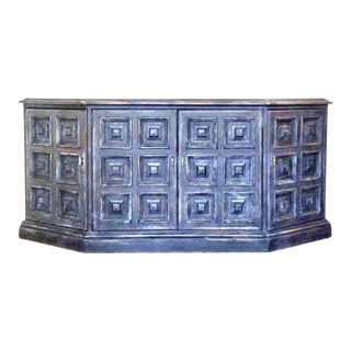 Mid-Century Modern Drexel Solid Wood Buffet