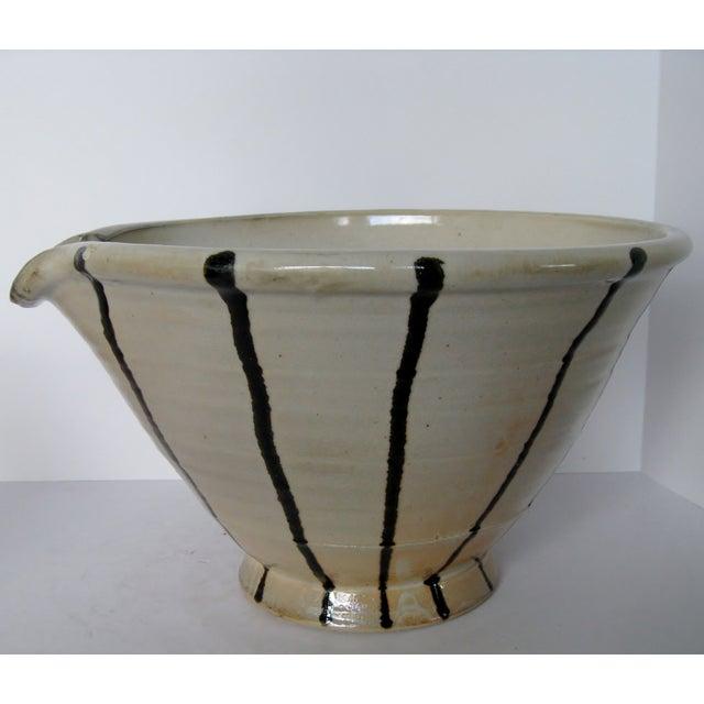 Artisan Pottery Mixing Bowl - Image 2 of 6