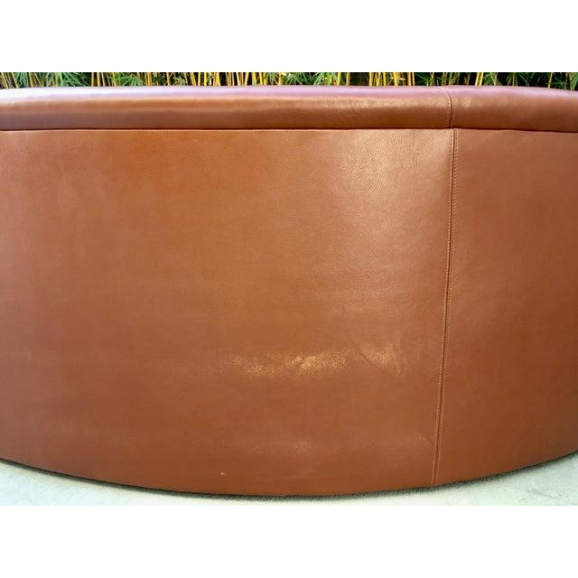 Vladimir Kagan Biomorphic Kidney Bean Shaped Sofa - Image 6 of 9