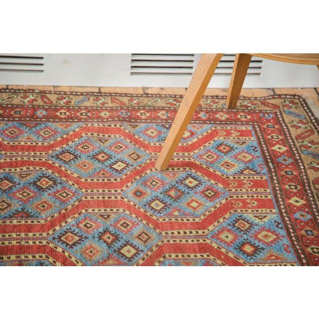 "Vintage Northwest Persian Square Rug - 3'9"" X 5'2"" - Image 3 of 7"