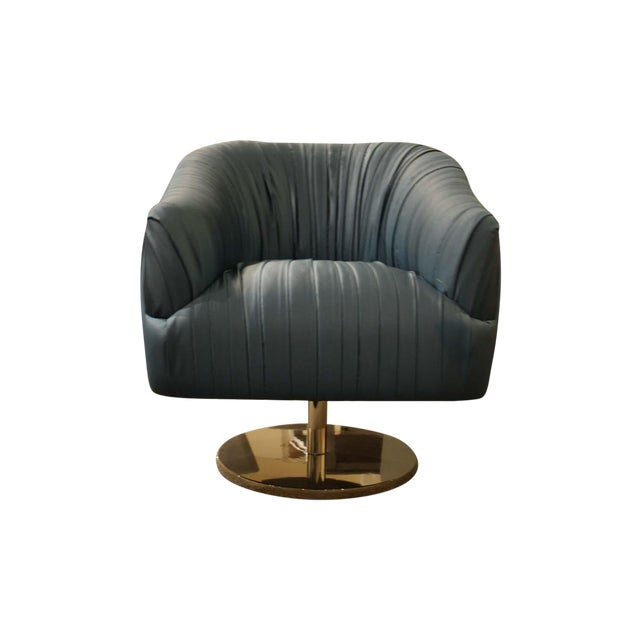 Nathan Anthony Blossom Swivel Chair - Image 1 of 4