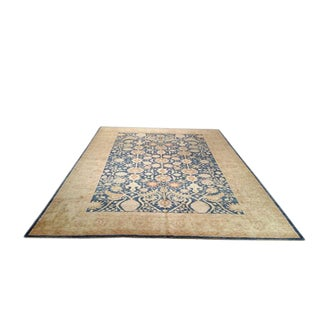 10′1″ × 13′6″ Traditional Handmade Knotted Rug - Size Cat. 10x14