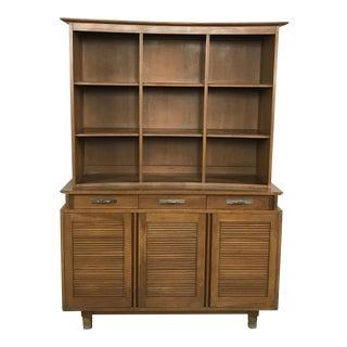 Vintage Willett Furniture Mid-Century Hutch