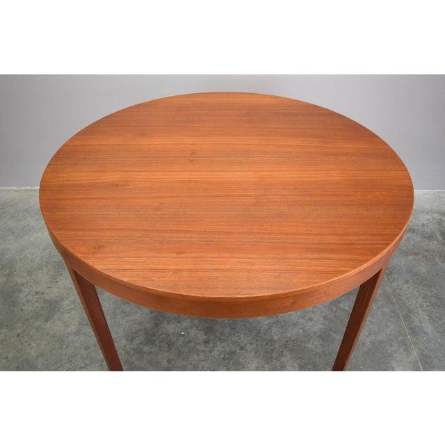 Hornslet Møbelfabrik Danish Teak Dining Table w/ 2 leaves - Image 3 of 11