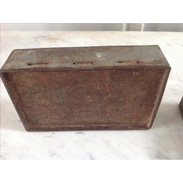 Vintage Industrial Letterpress Blocks - Set of 34 - Image 8 of 8