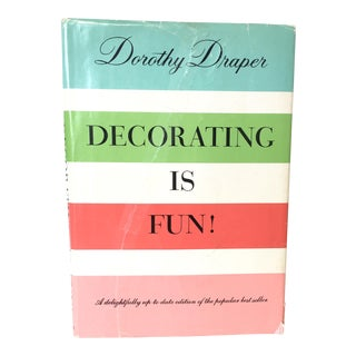 "Vintage Dorothy Draper ""Decorating Is Fun"" Book"