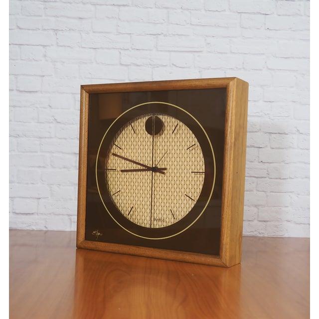 1970s Elgin Wall Clock - Image 3 of 8