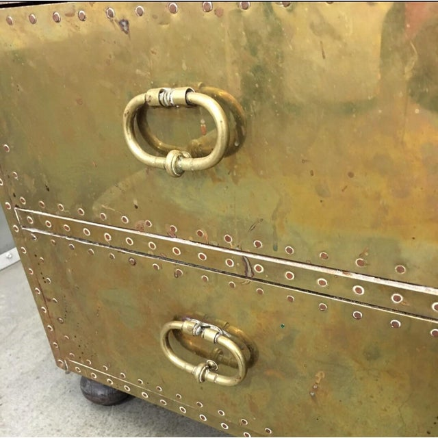 Sarried Gold 2-Drawer Trunk - Image 2 of 5