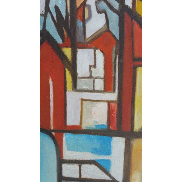 Factory Chimney Oil Painting - Image 4 of 4