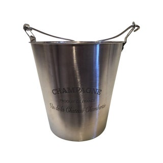 Extra Large Silver Champagne Bucket