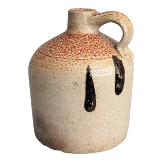 Americana Salt Glazed Jug with Orange Peel