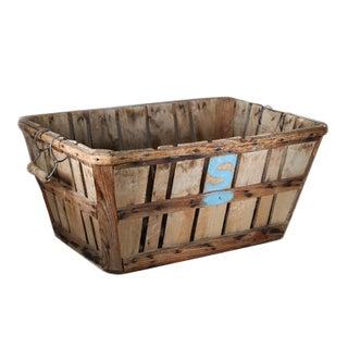Antique Apple Orchard Basket