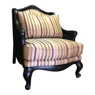 Schnadig Traditional Dark Wood Chair