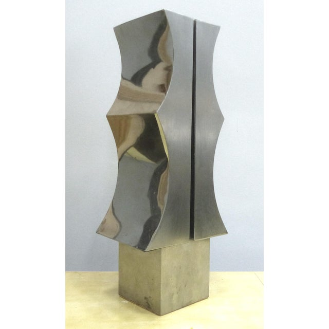 1970s Modernist Aluminum Sculpture by Yutaka Toyota - Image 5 of 11